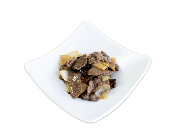 Ternera con salsa de ostras