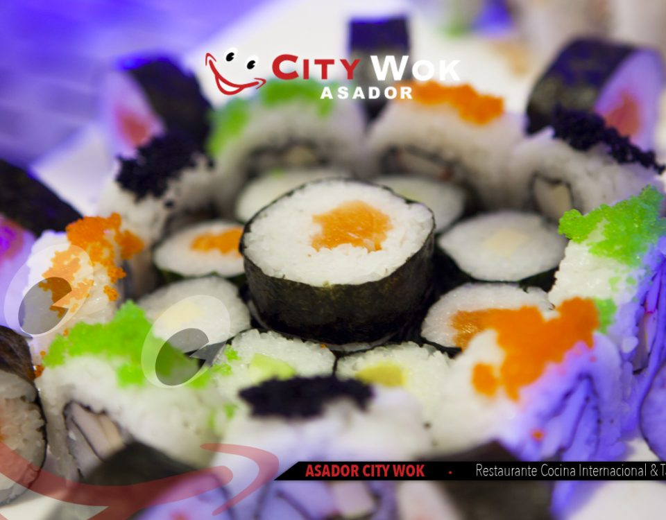 Tipos de Sushi City Wok