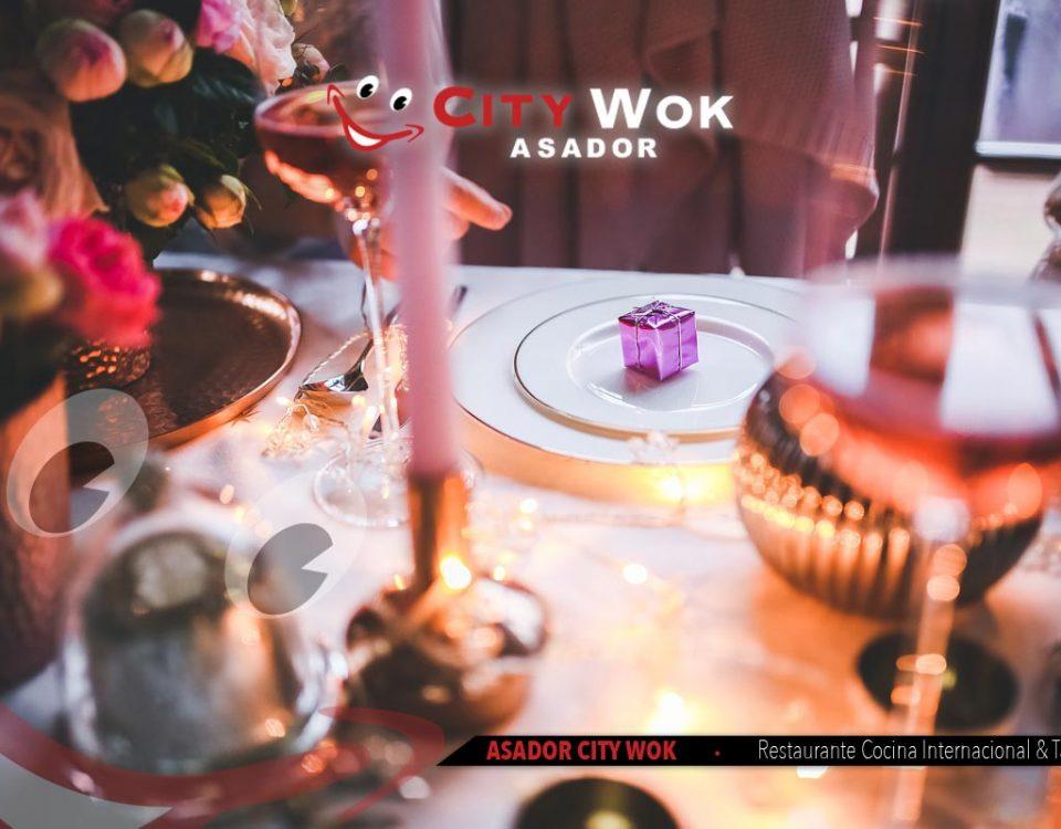 Celebra Nochebuena en Asador City Wok de Granada