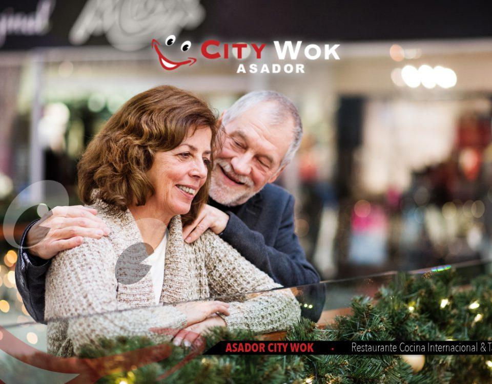 Navidad en Alameda Store City y en City Wok Granada