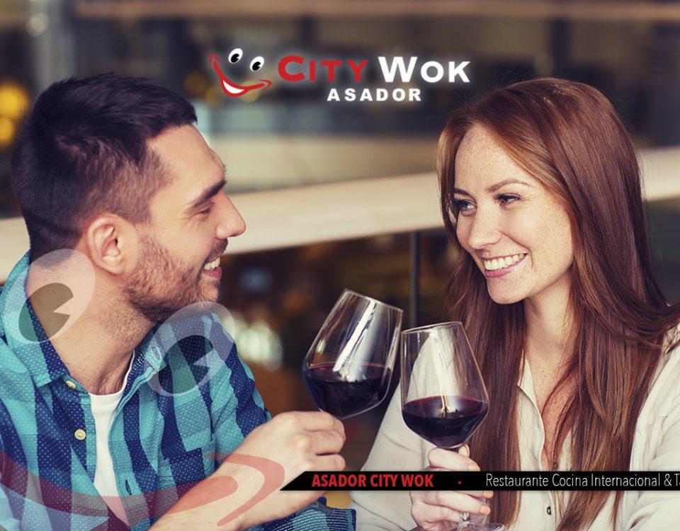 Cena en pareja en el Restaurante City Wok de Granada