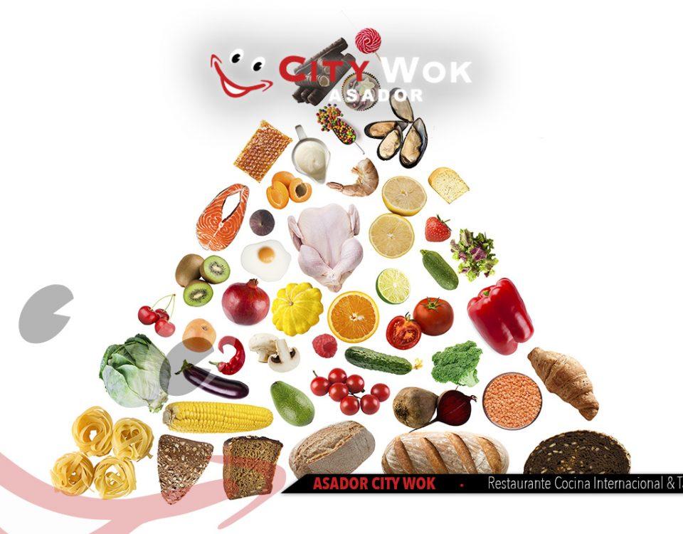 ¿Conoces la pirámide alimentaria?