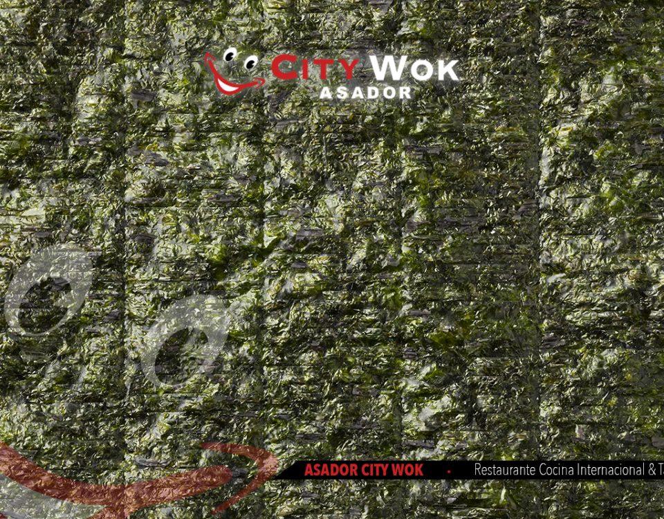 Descubre las algas nori en Granada