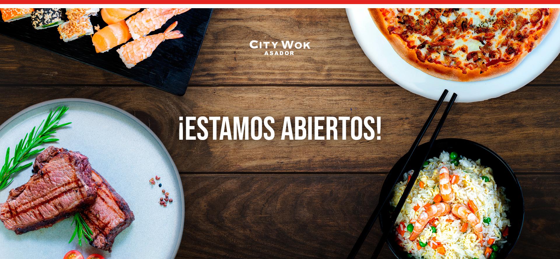Abierto city wok