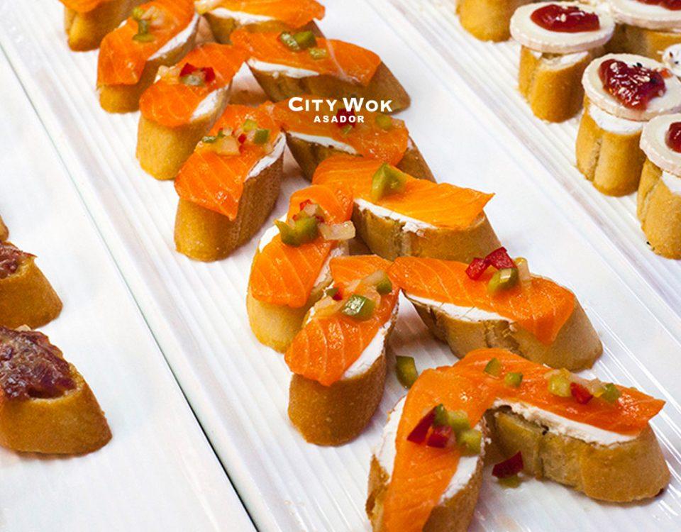 Gastronomía mediterránea en City Wok Granada
