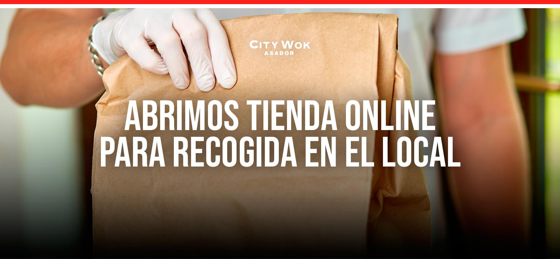 Tienda online City Wok Granada