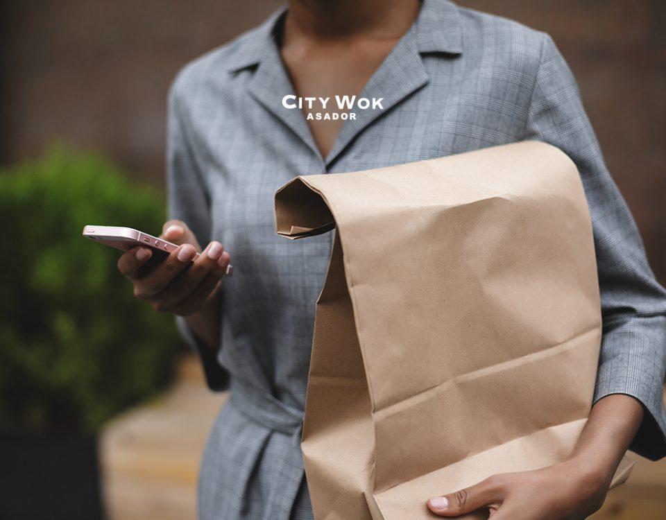 Disponemos de tienda online en City Wok Granada